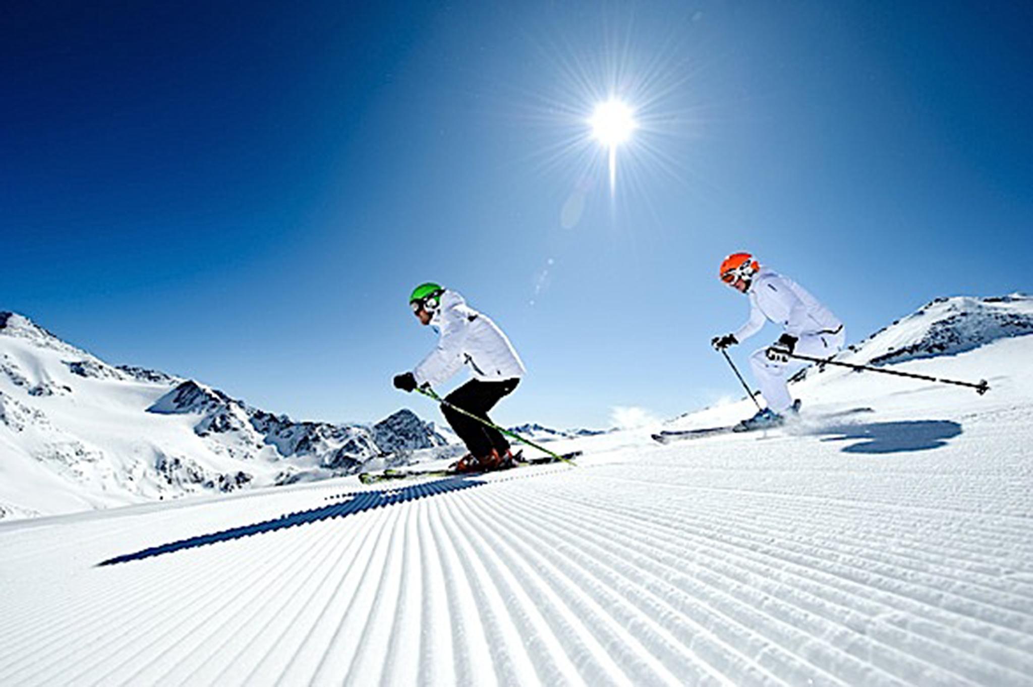 Vieni a sciare con noi!